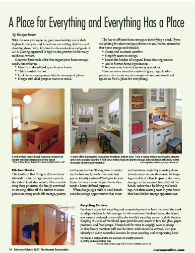 NW Renovation March issue