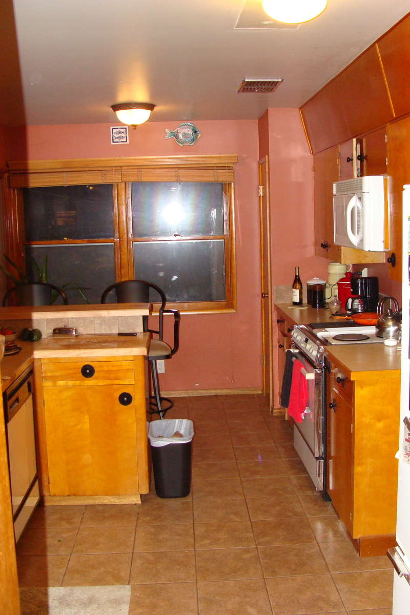 Help us choose our small kitchen makeover winner inside for Ranch galley kitchen remodel