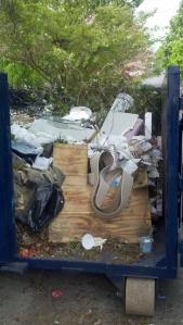 174 Full Dumpster