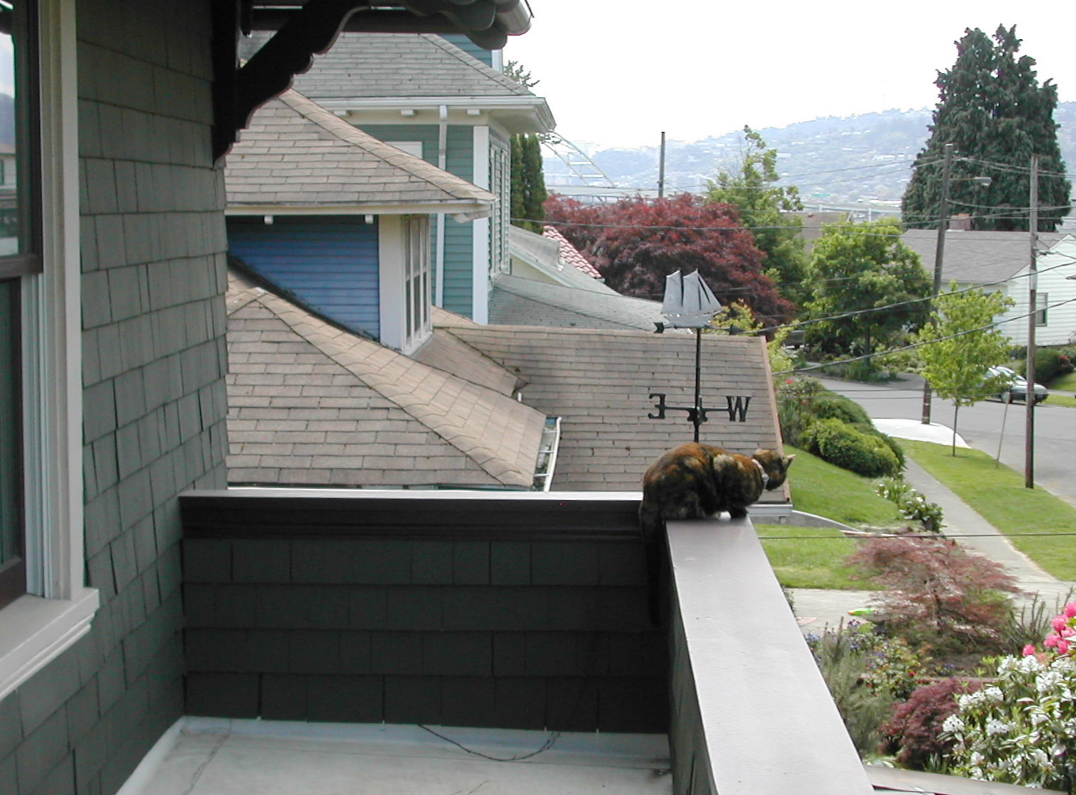 Adding a balcony to a house - This Balcony Was Shingled And Trimmed To Blend In With The Existing Exterior Of The House