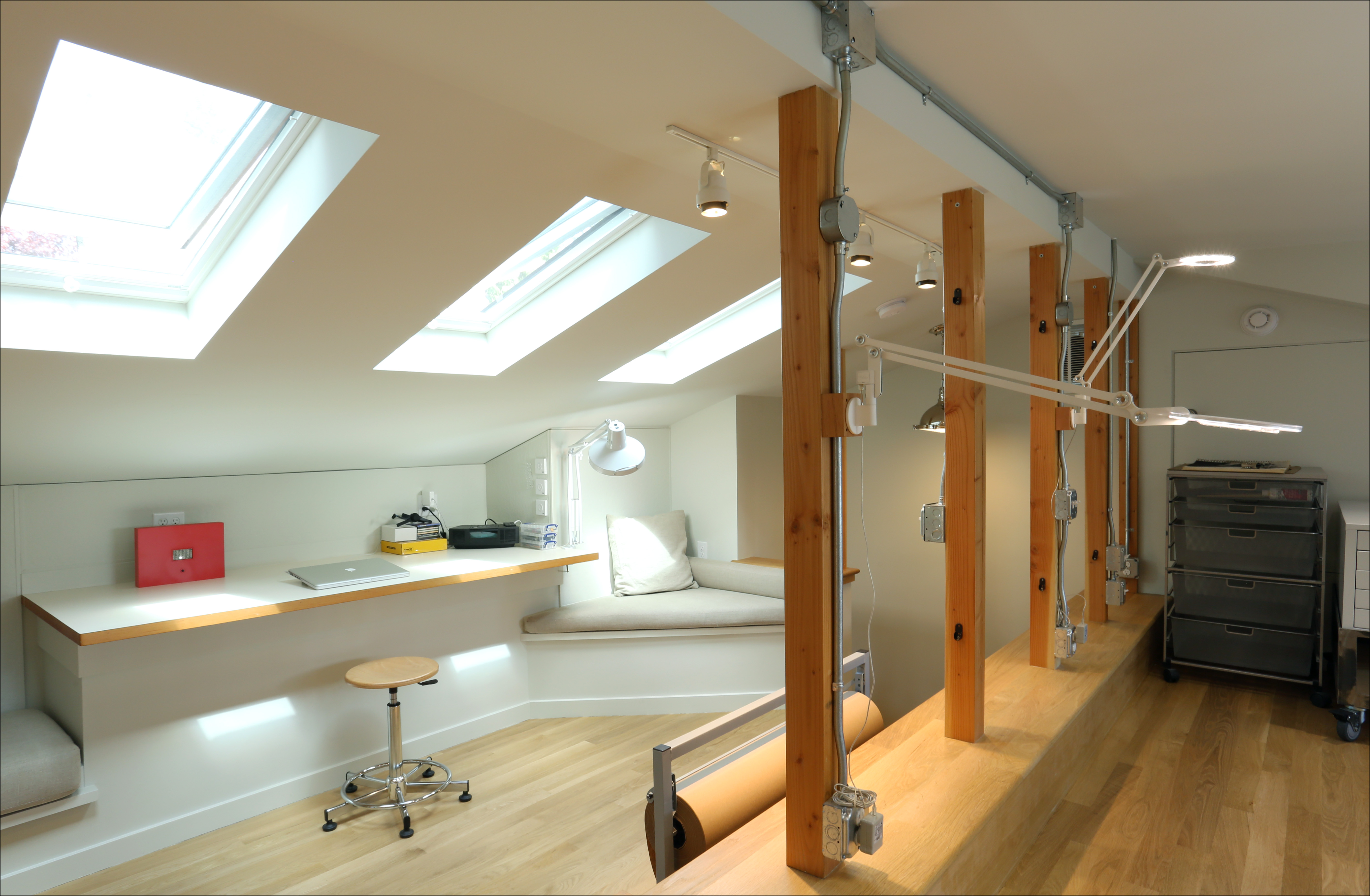 Client S Eye View Creating A Light And Airy Art Studio