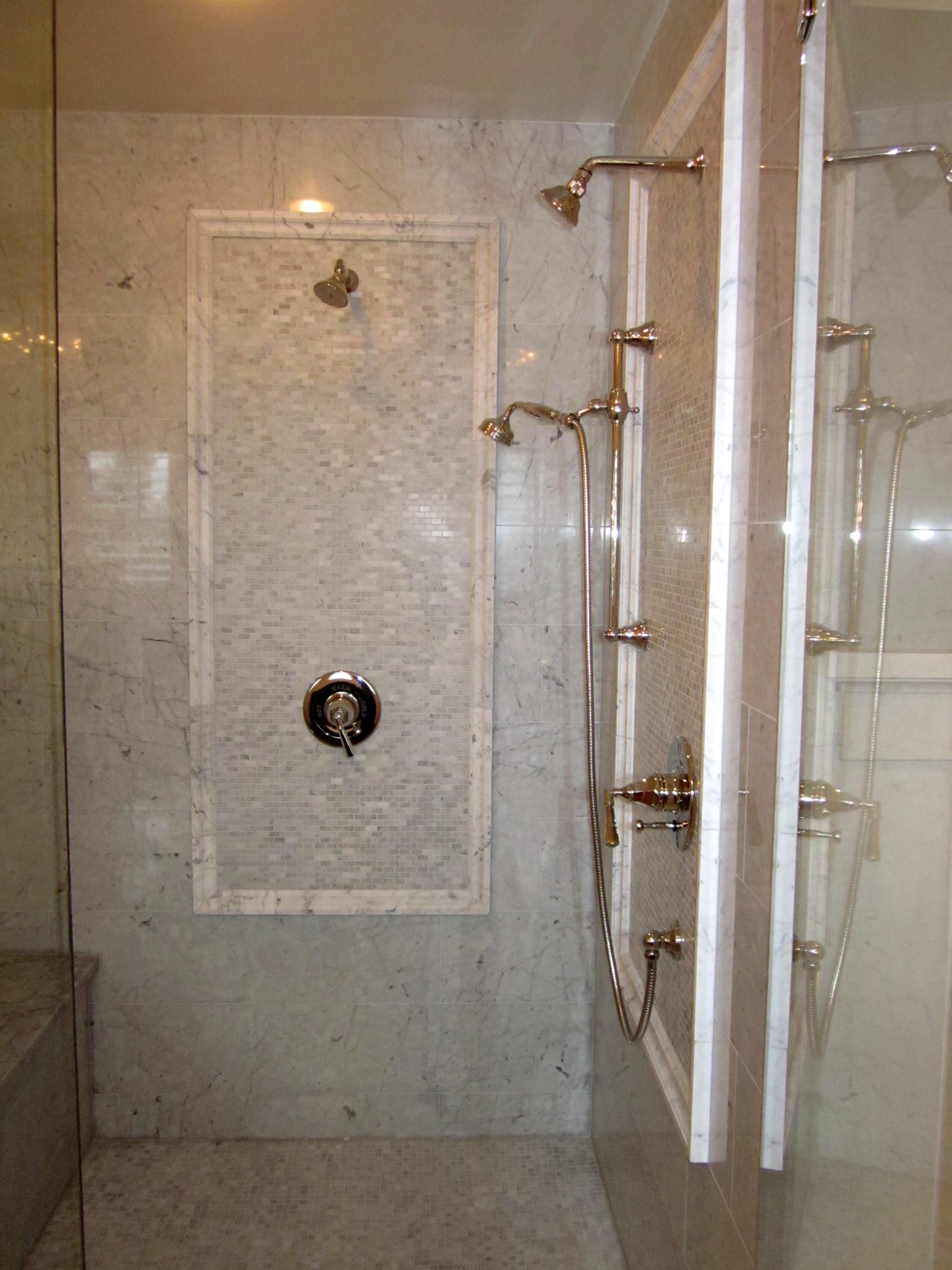 dual shower heads | Inside Arciform