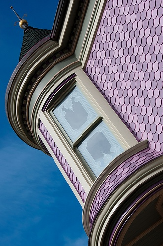 Historic curb appeal inside arciform for Victorian shingles
