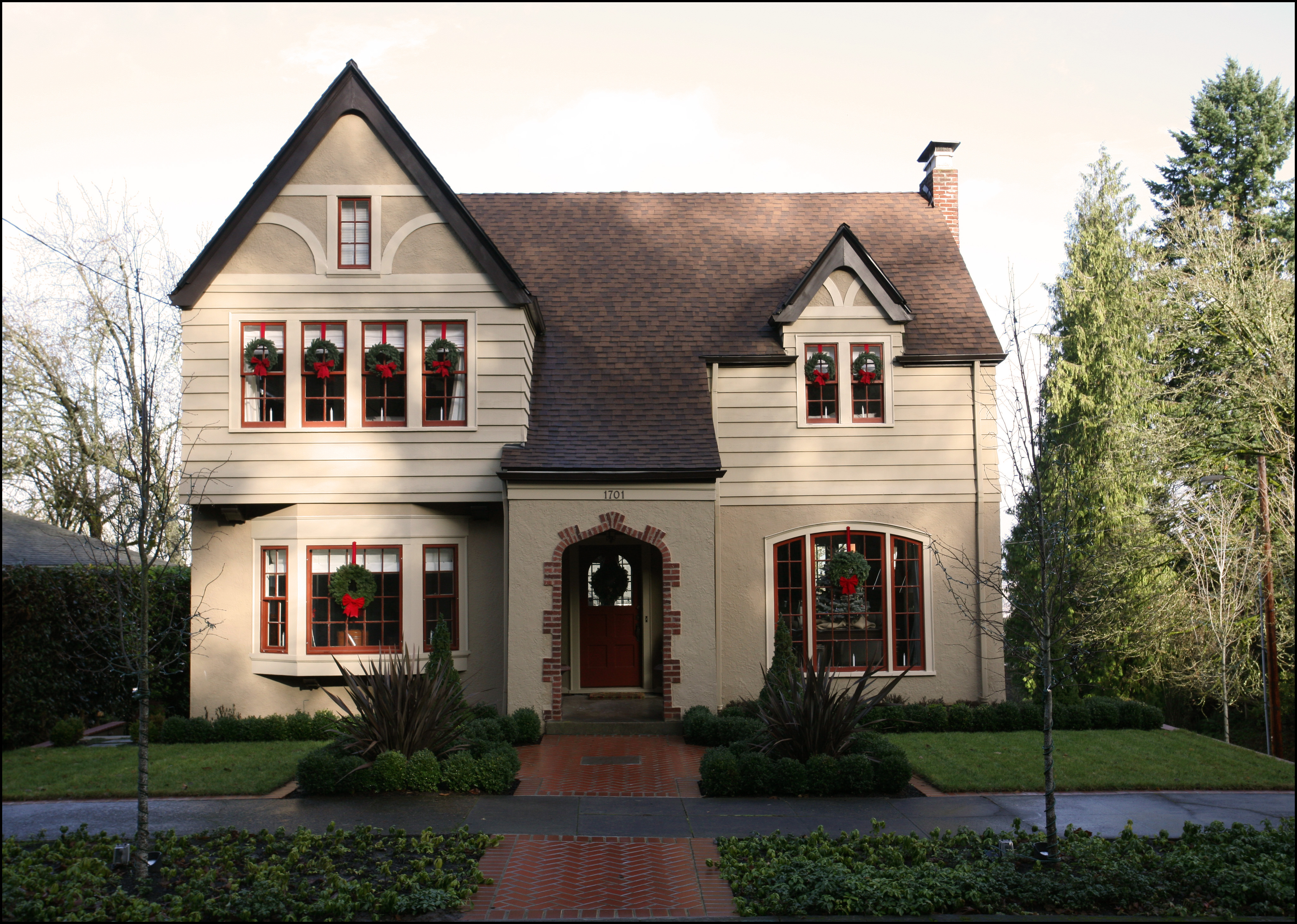 Tudor Facade historic curb apeal: taking care of your tudor | inside arciform