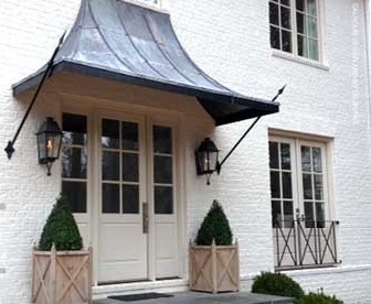 Gentil Copper Awning
