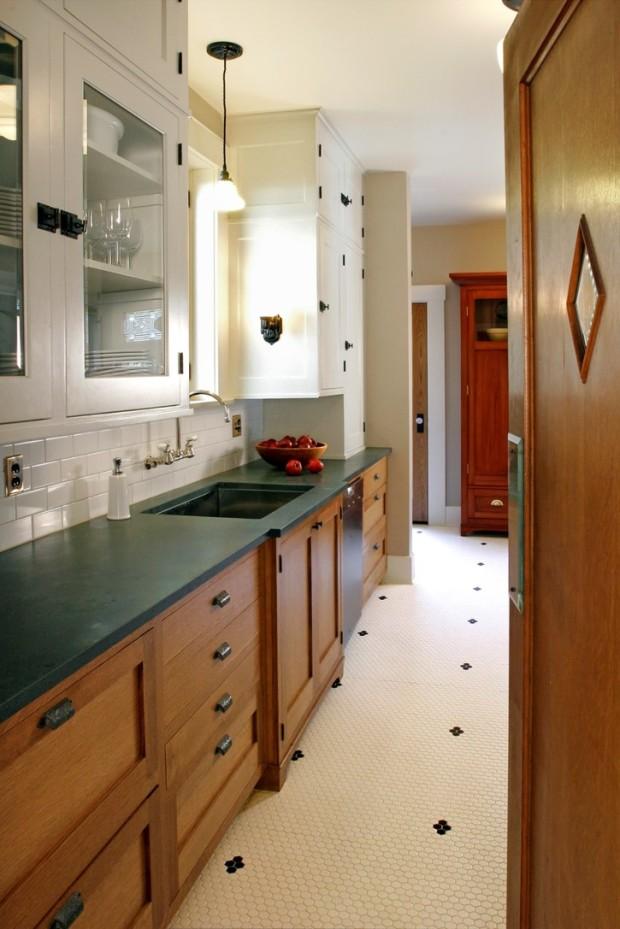 diamond tile floor pattern
