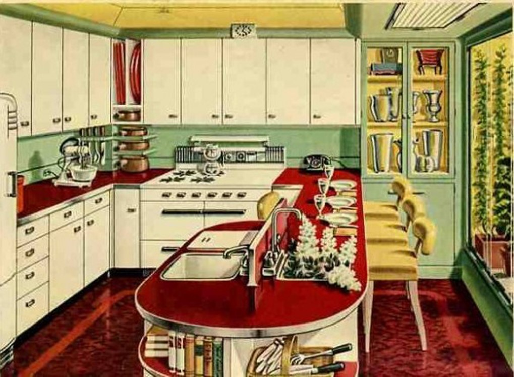 1940s kitchen | Inside Arciform