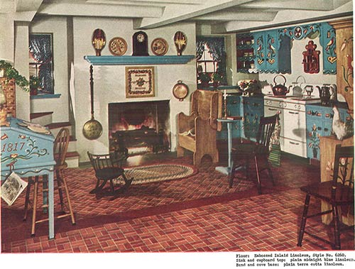 vintage 1940s pennsylvania dutch kitchen - 1940s Kitchen