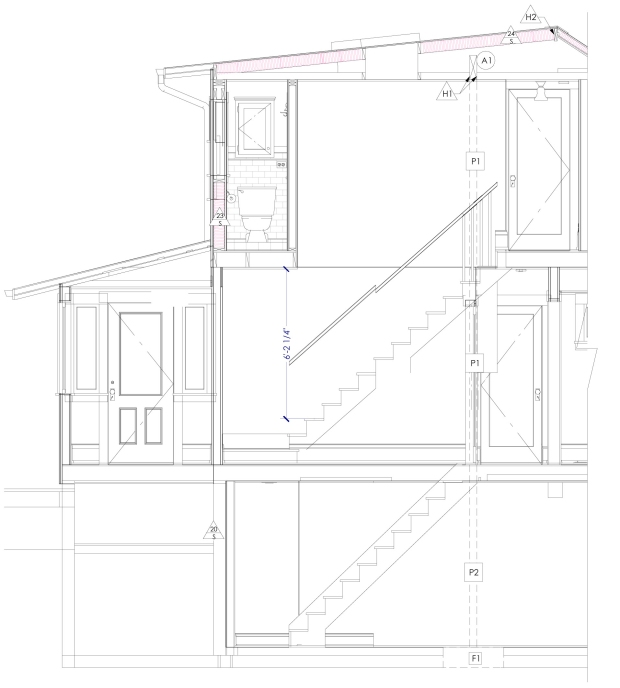 A plan by Chelly Wentworth shows the insulation in a dormer addition.