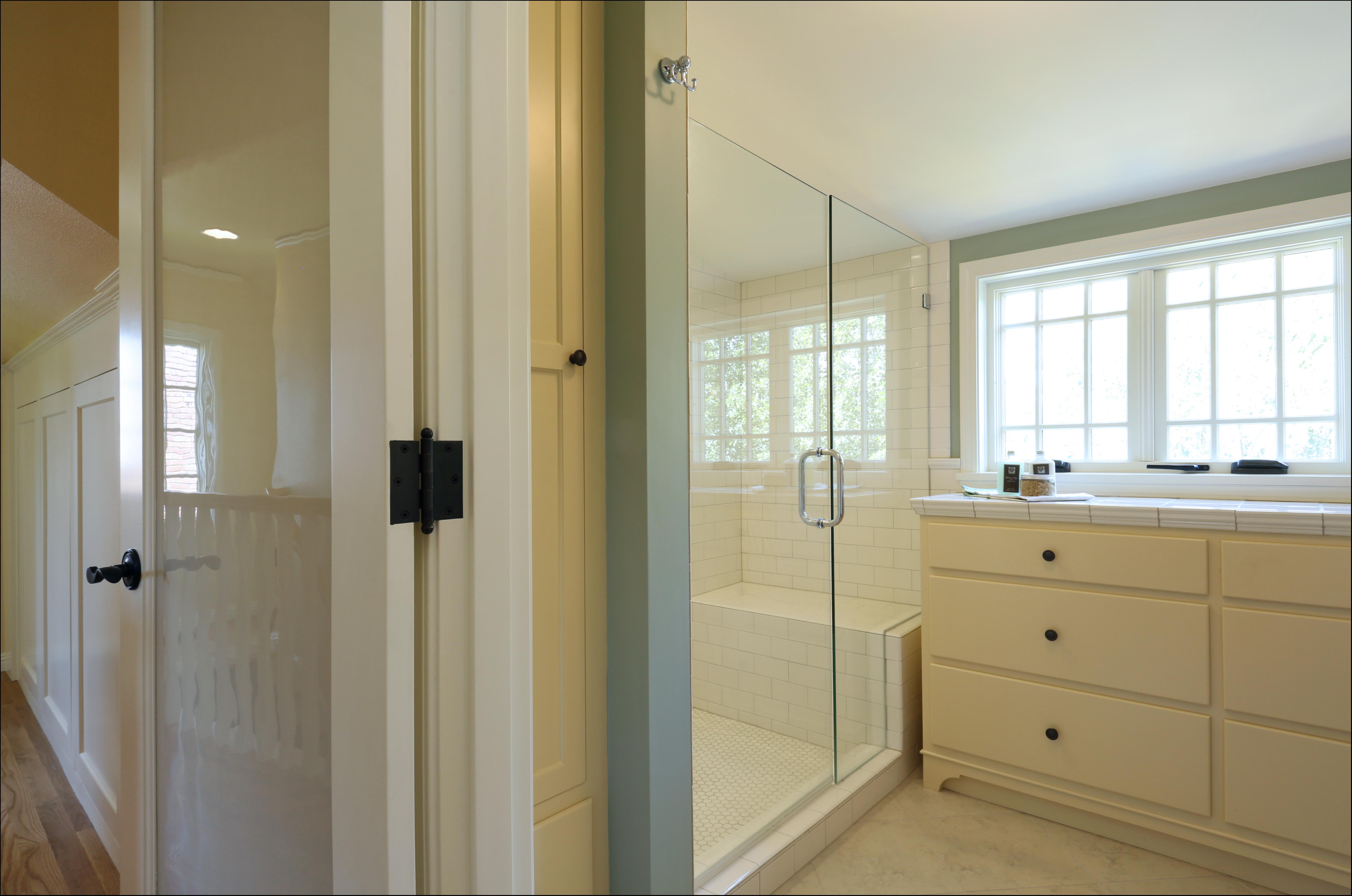 Dormer addition inside arciform for Bathroom dormer design