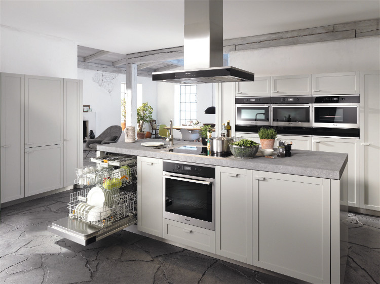 Miele integrated range