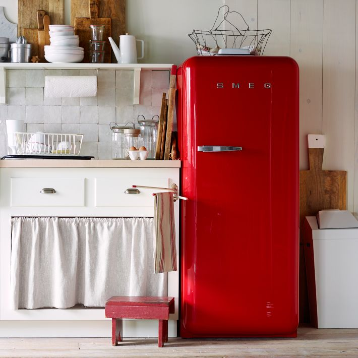 smeg retro fridge