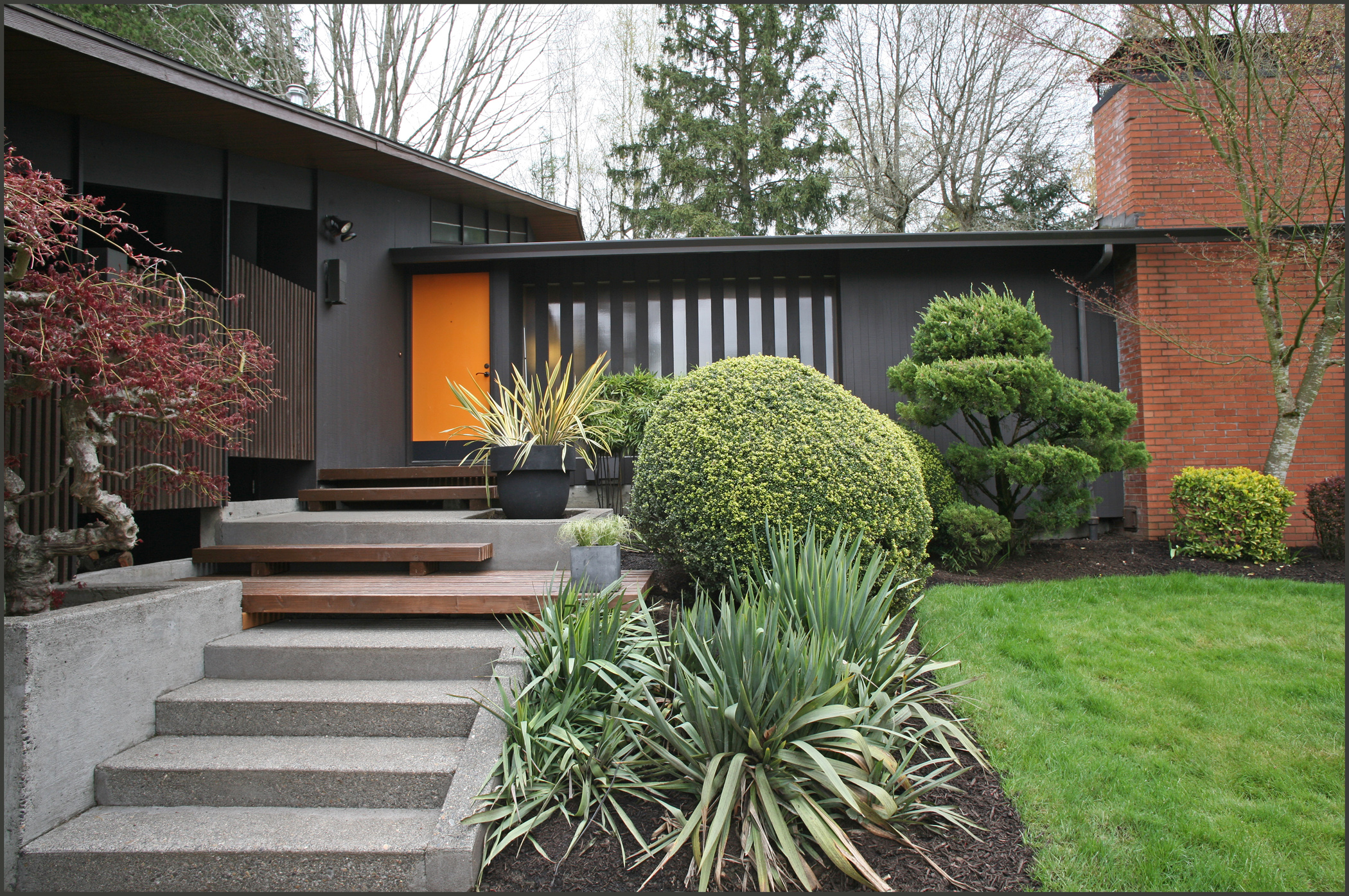 Mid century modern home exterior paint colors - Home modern