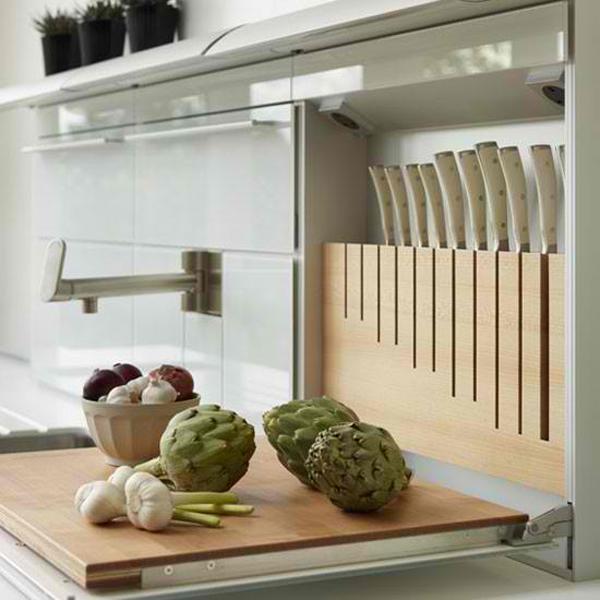 Kitchen Knife Storage Ideas Part - 30: Organize-your-kitchen-with-these-20-awesome-kitchen-