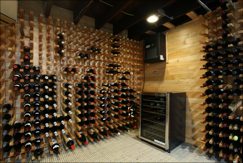 wine cellars inside arciform