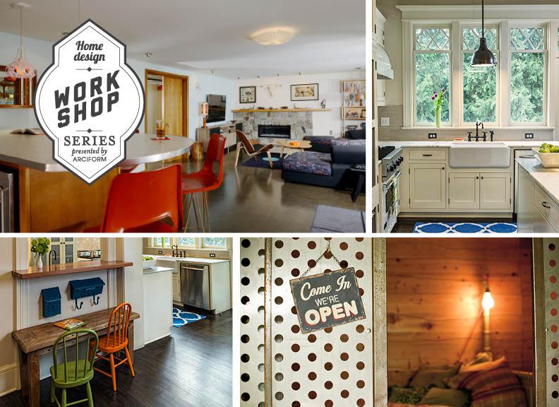 Home Design Workshops. DesignWorkshopSeries_imagecollage